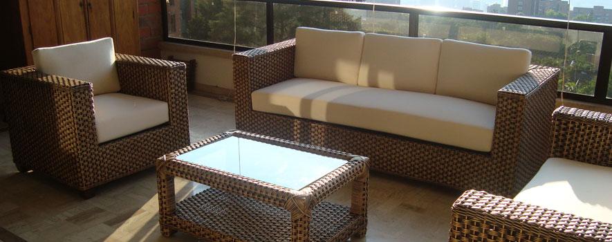 Muebles de bambu baratos for Muebles de rattan